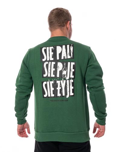 Bluza 3maj Fason Się Pije Zielona