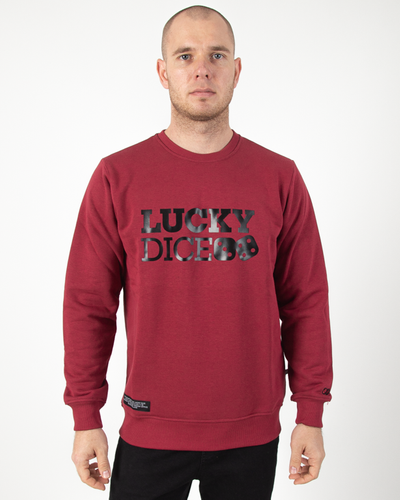 Bluza  Lucky Dice Classic Ruby