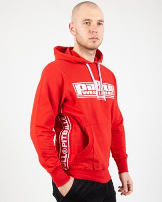 Bluza Z Kapturem Pit Bull Terry Boxing Red