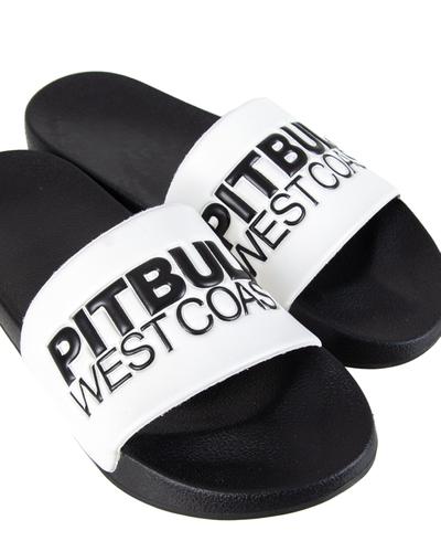Klapki Pit Bull Tnt White-Black