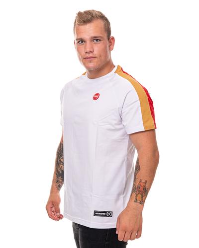 Koszulka Patriotic Futura Slices White-Red-Mustard