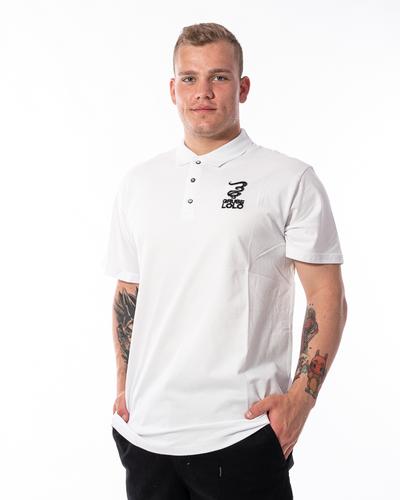 Koszulka Polo Grube Lolo Small Logo Biała