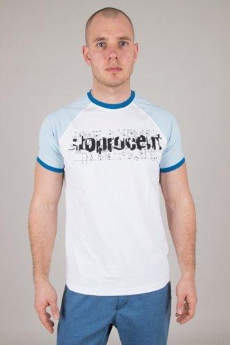 Koszulka Stoprocent Electro White-Blue