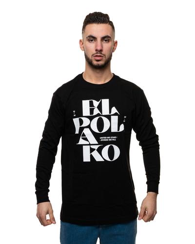 Longsleeve El Polako Letters Black