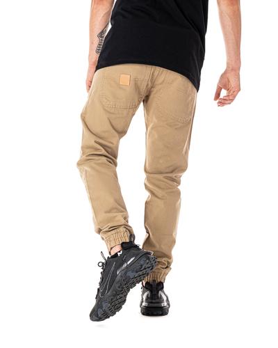 Spodnie Chino Jogger Mass Base Piaskowe