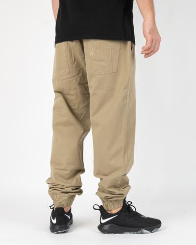 Spodnie Chino Jogger Mass Signature Beige