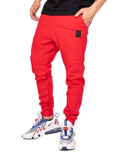 Spodnie Dresowe Pit Bull Clanton Czerwone
