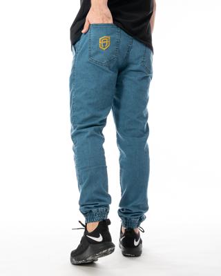 Spodnie Jeans Jogger Street Autonomy Popular II Jasnoniebieskie