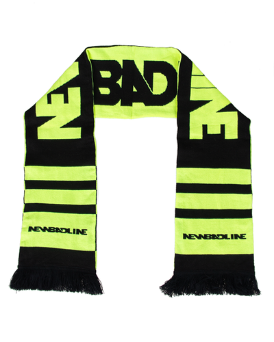 Szalik New Bad Line Classic Black-Neon