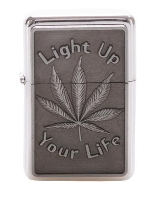 Zapaliczka Metalowa Your Life Silver 45