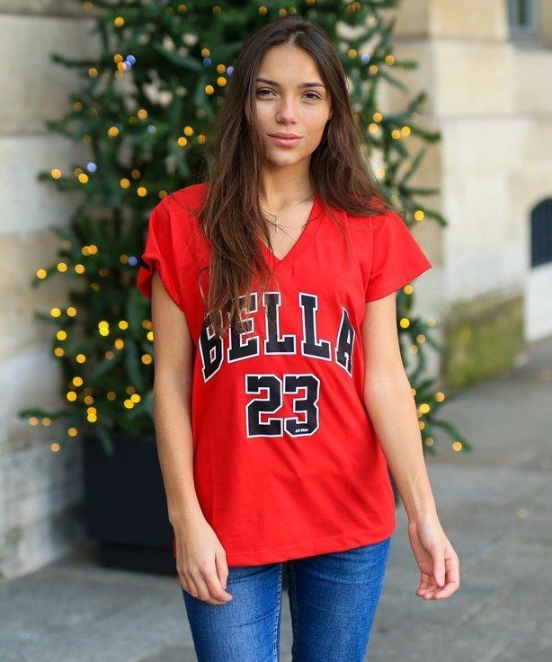 Koszulka Damska Atr Wear Bella Oversize Red
