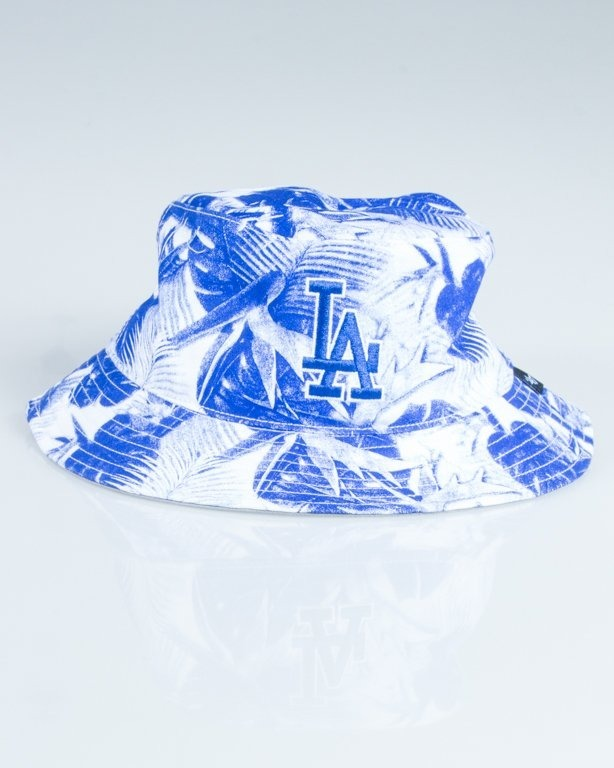 47 BRAND BUCKET HAT LOS ANGELES DODGERS BLUE-WHITE