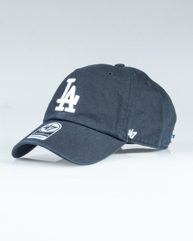 47 BRAND CAP MLB LOS ANGELES DODGERS CLEAN UP BLACK