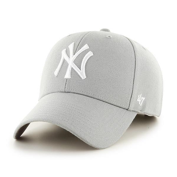 47 Brand Czapka Snapback New York Yankees Grey