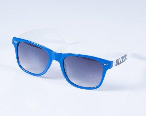 BLOCX OKULARY CLASSIC BLUE-WHITE