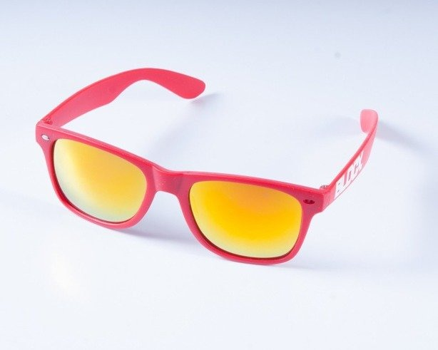 BLOCX OKULARY MAT RED COL