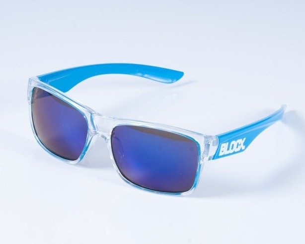 BLOCX OKULARY SHARK CLEAR X BLUE