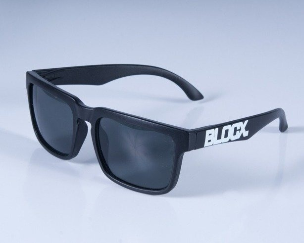 BLOCX OKULARY SQUARE BLACK MAT