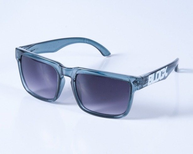 BLOCX OKULARY SQUARE CLEAR BLACK