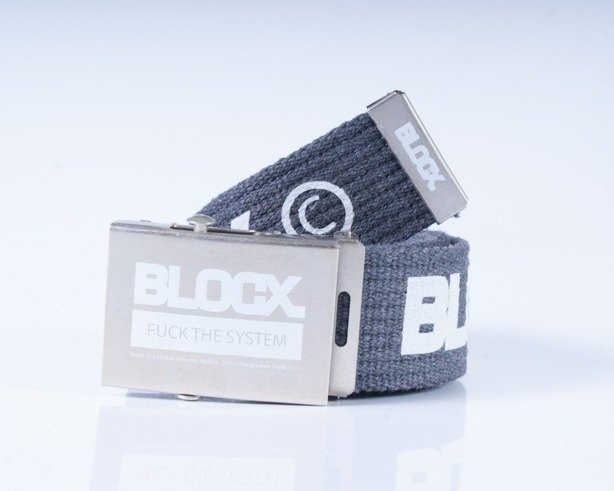 BLOCX PASEK PARCIANY CLASSIC GREY