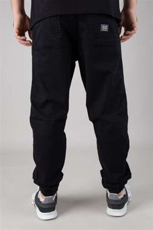 BOR PANTS JEANS JOGGER FIT GUMA BOR NEW OUTLINE BLACK