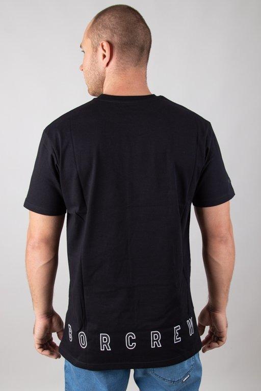 BOR T-SHIRT KWADRAT BLACK