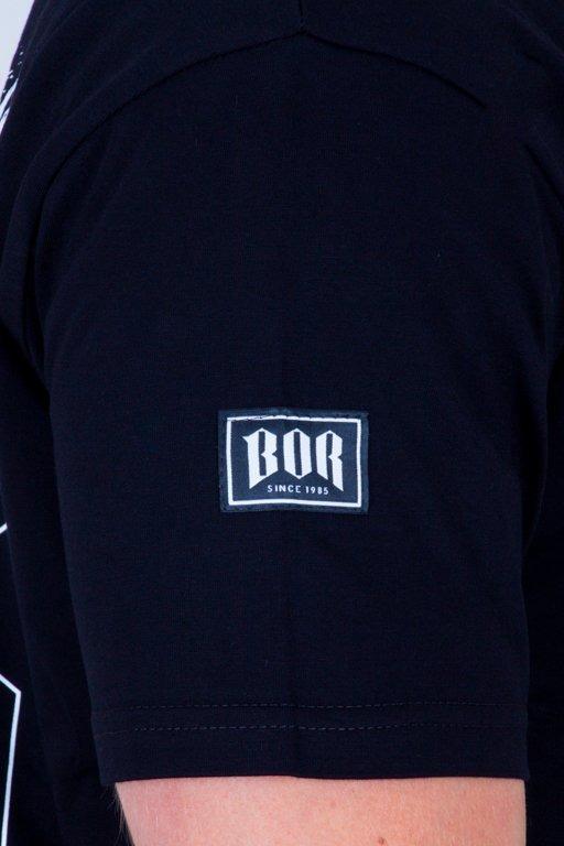 BOR T-SHIRT WILK BLACK