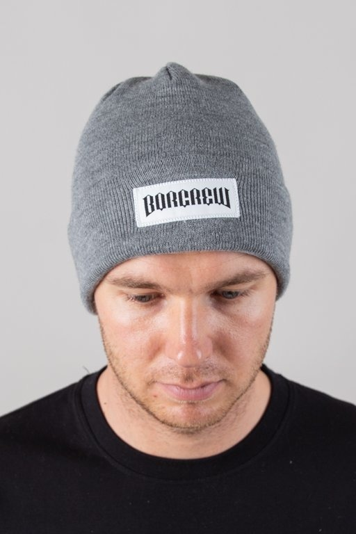 BOR WINTER CAP BORCREW GREY