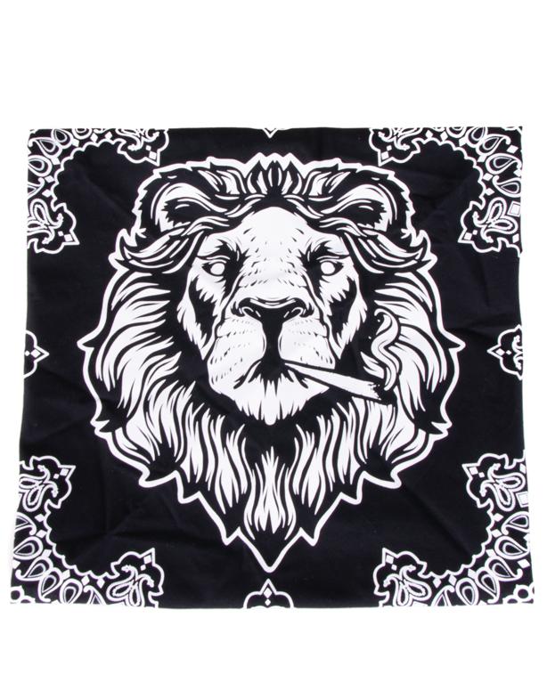 Bandana Dudek P56 Lion Black