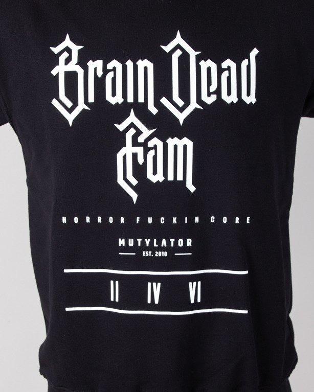 Bluza Brain Dead Familia Cut Gothic Black