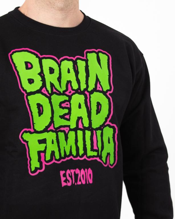 Bluza Brain Dead Familia Poison Black