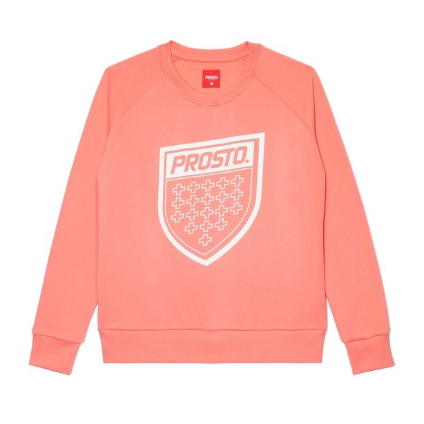 Bluza Damska Prosto Figure Light Pink