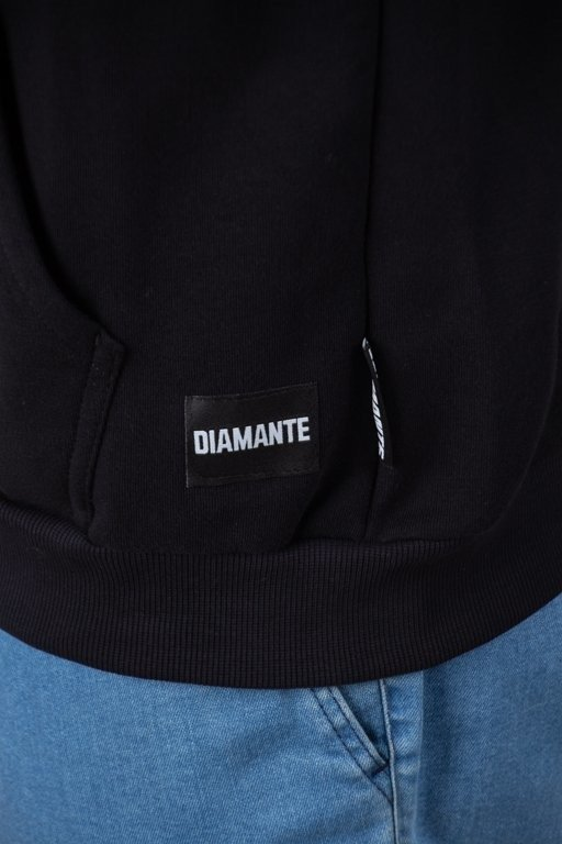 Bluza Diamante Wear Hoodie Bad Motherfuckers Black