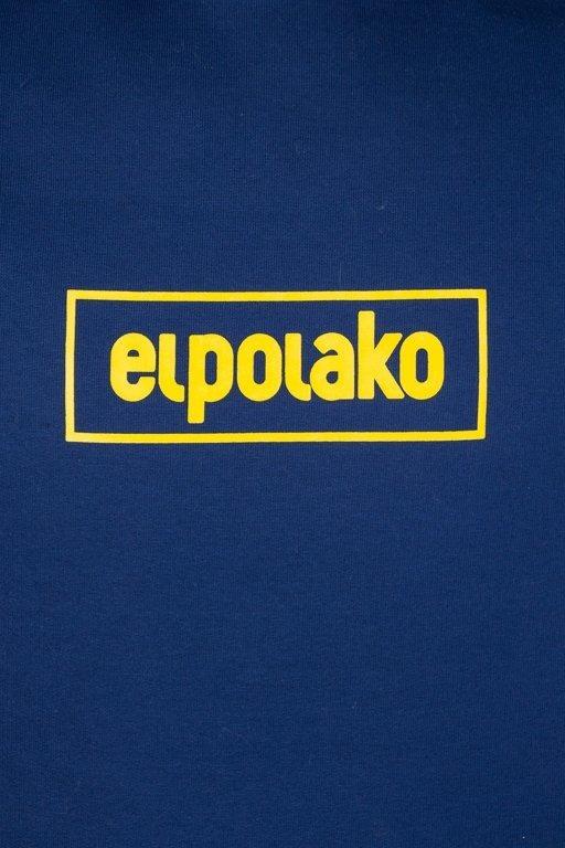 Bluza El Polako Hoodie Cons Granat