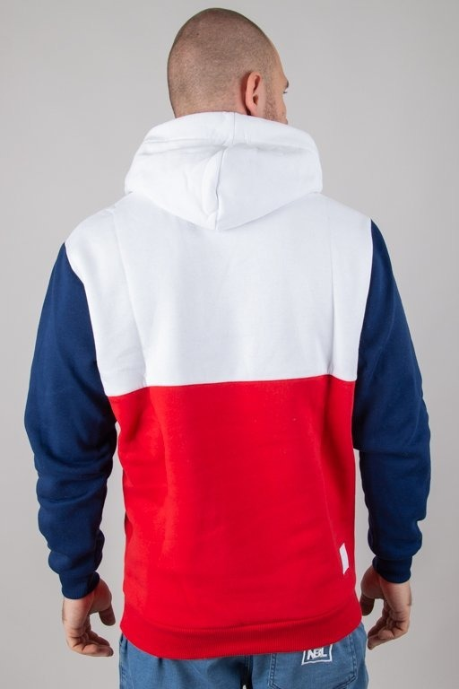 Bluza El Polako Hoodie Mistrz Red-Navy