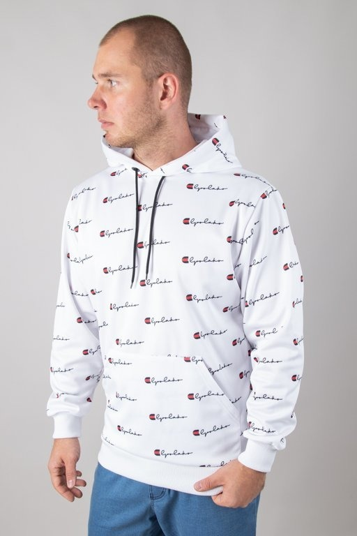 Bluza El Polako Hoodie Premium Multi Mistrz White