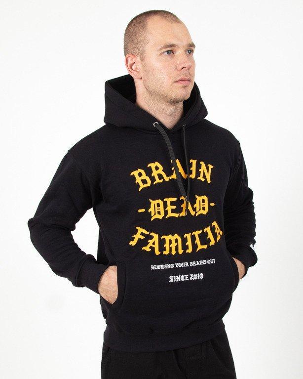 Bluza Hoodie Brain Dead Familia BDF Black