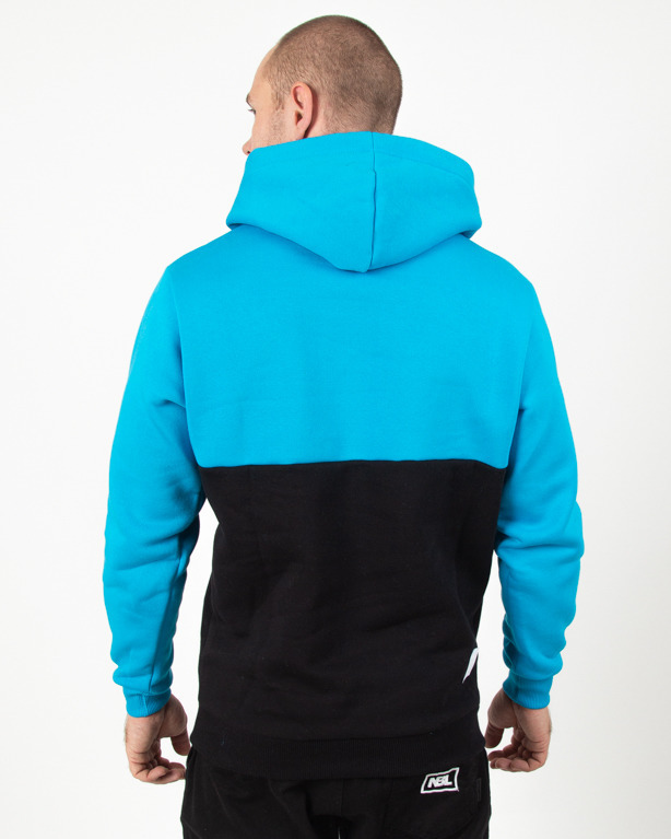 Bluza Hoodie El Polako Elpo New Blue-Black