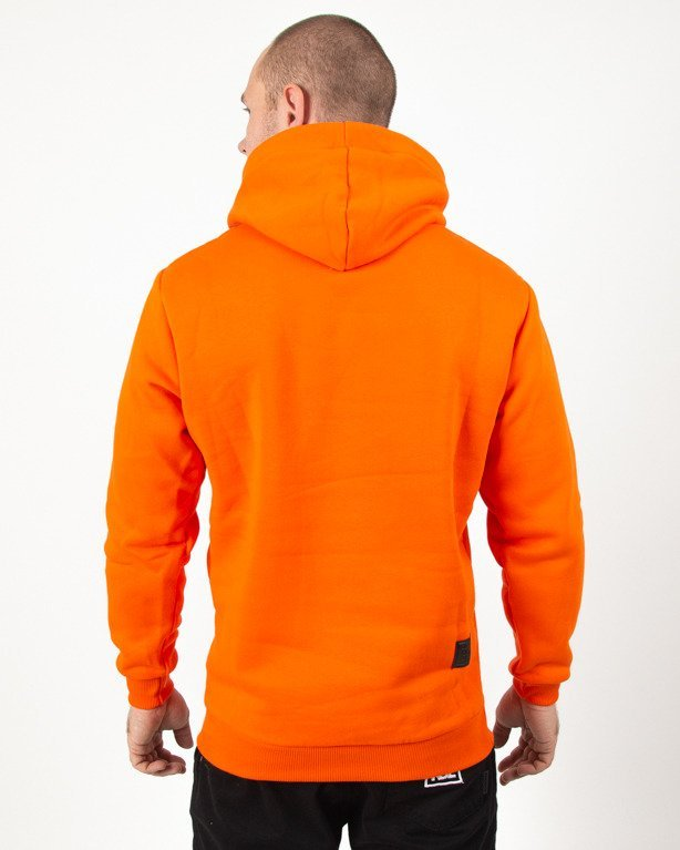 Bluza Hoodie El Polako Noise Orange