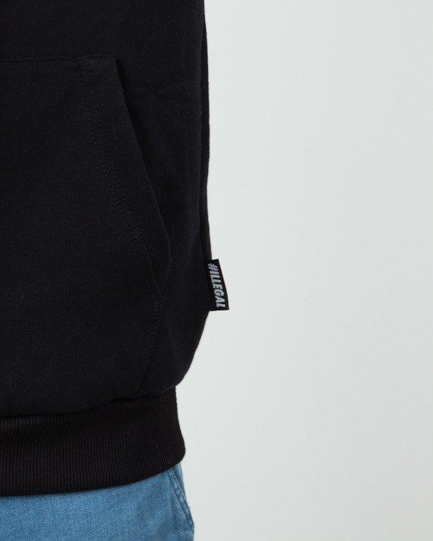 Bluza Hoodie Illegal #ILL Black