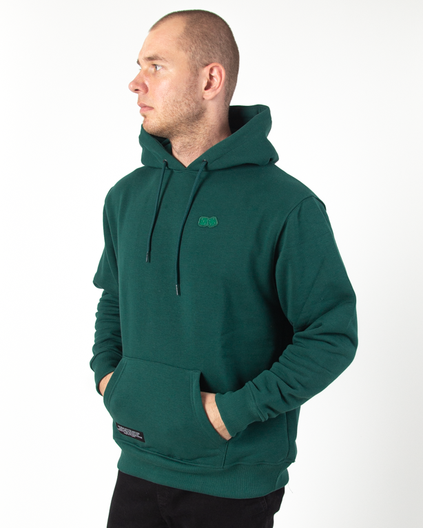 Bluza Hoodie Lucky Dice Basic Dice Green
