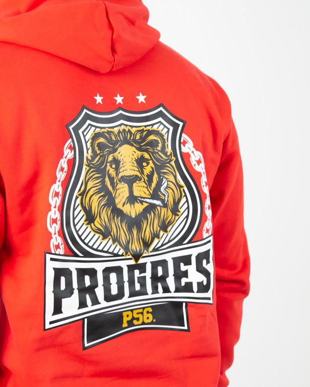 Bluza Hoodie Prorok56 Lion Red