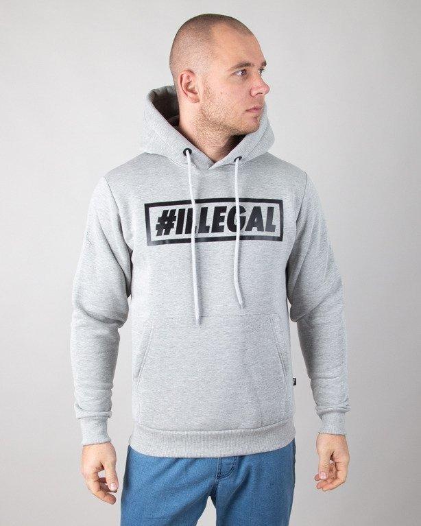 Bluza Illegal Hoodie Klasyk Melange