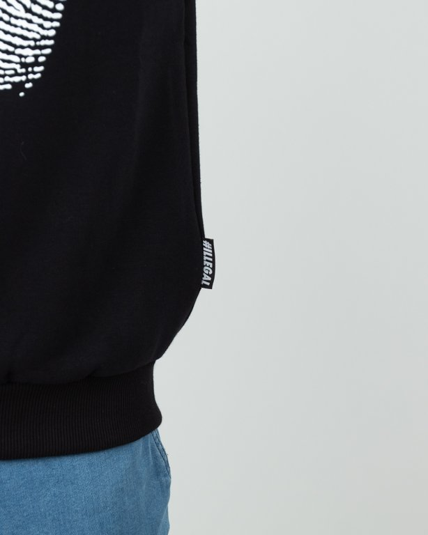 Bluza Illegal Odcisk Black