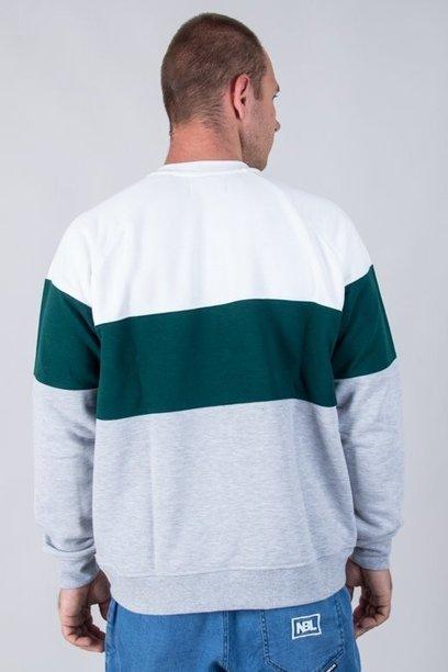 Bluza Lucky Dice 3panels White-Green