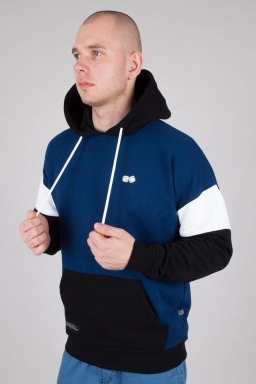 Bluza Lucky Dice Hoodie Nine Letters Navy