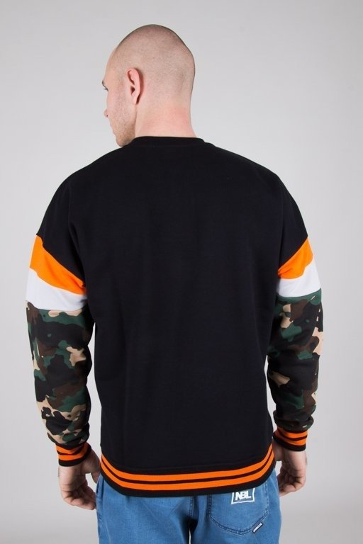 Bluza Lucky Dice Logo Colour Black-Orange