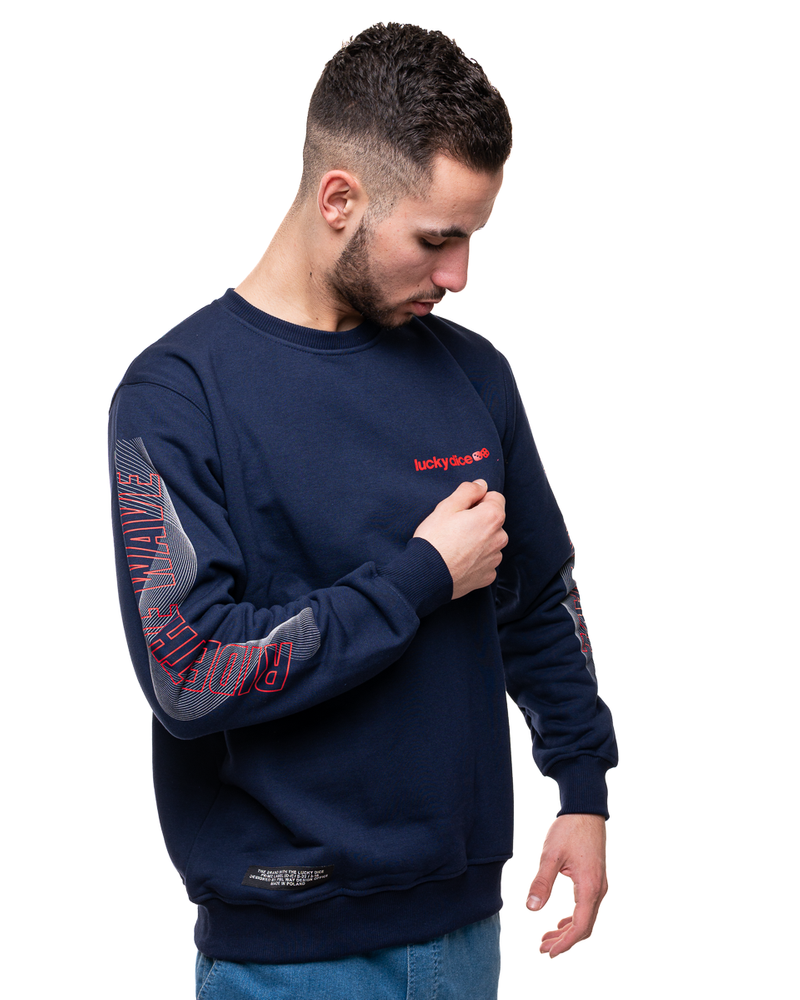 Bluza Lucky Dice Ride The Wave One Navy