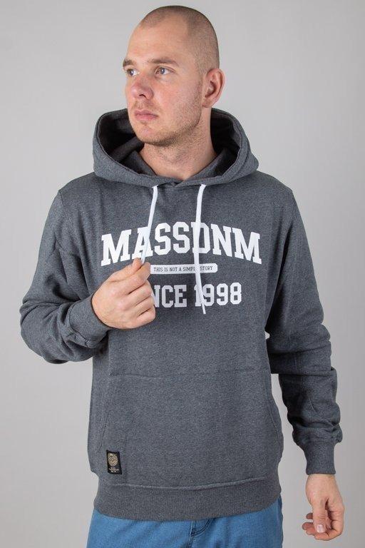 Bluza Mass Hoodie Campus Grey