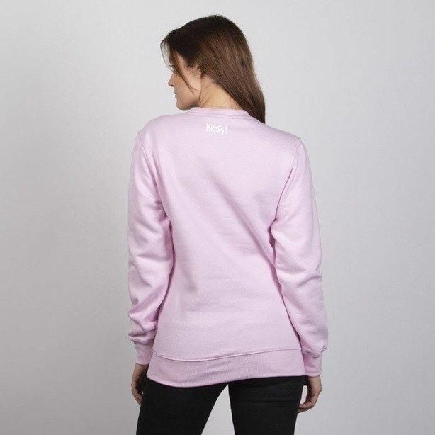 Bluza Mass Woman Signature Medium Logo Pink